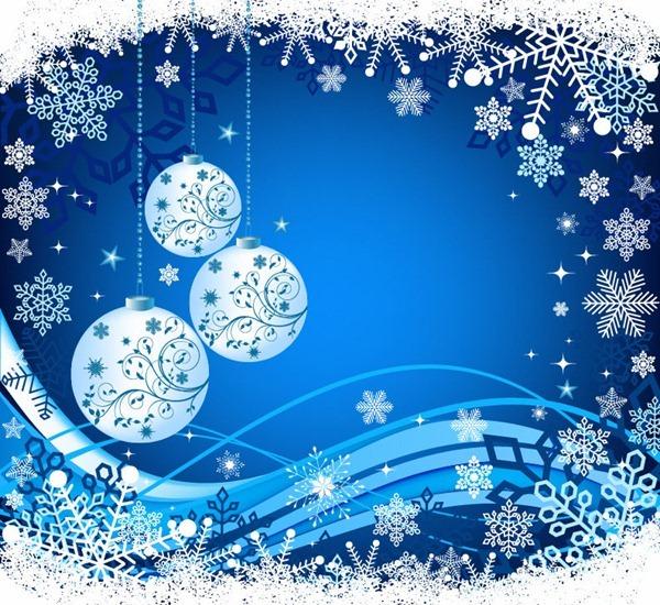 Elegant Christmas Background Vector Illustration